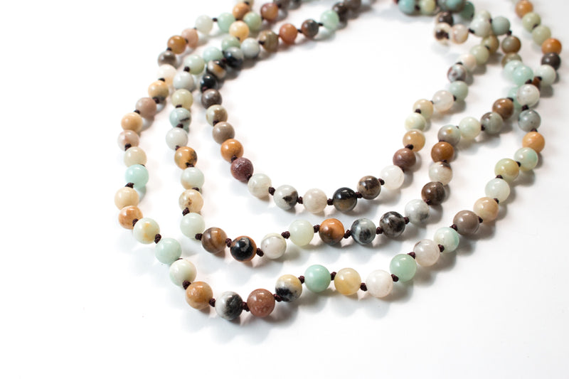 The Evelyn Natural Stone Necklace