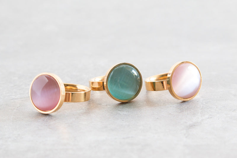 The Kensley | Opal Ring | 3 Colors