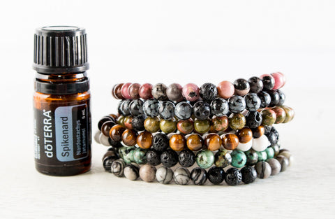 Essential Oil Diffuser Bracelets | Natural Ore Stone