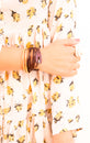 The Magnolia Collection | Genuine Leather Bracelets