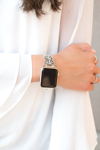 Leather & Nylon Apple Watch Band