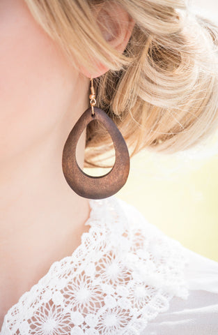 Leather Feather Earrings | Short Design | 6 Colors