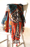 The Navajo Tassel Scarf