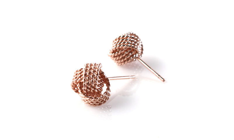 Mesh Stud Earrings