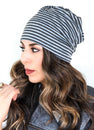 Embroidered Peek-A-Boo Beanie | 4 Colors
