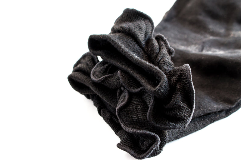 Crew Socks | Ruffled Design | 5 Colors
