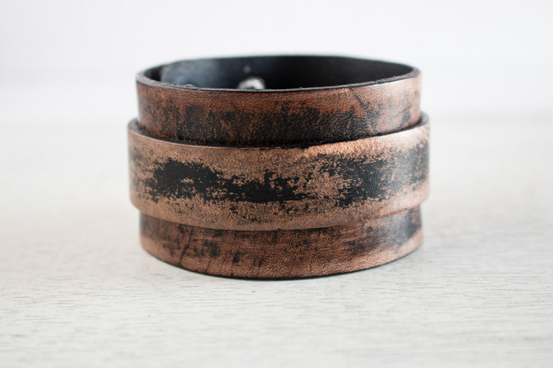 The Rustic Collection | Genuine Leather Bracelets