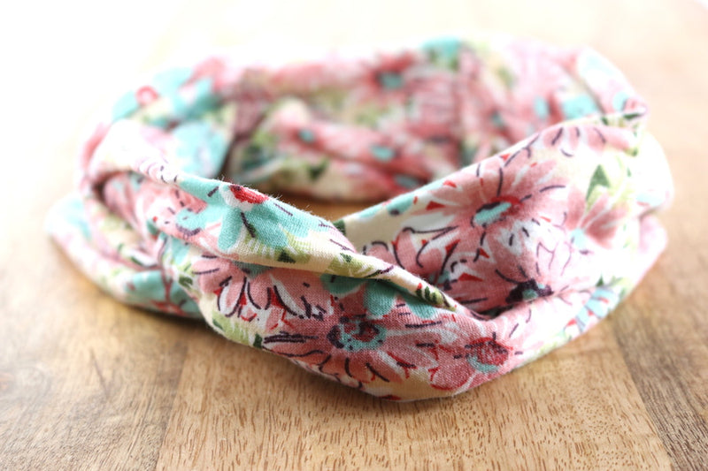 Cotton Twist Headbands | Floral Designs