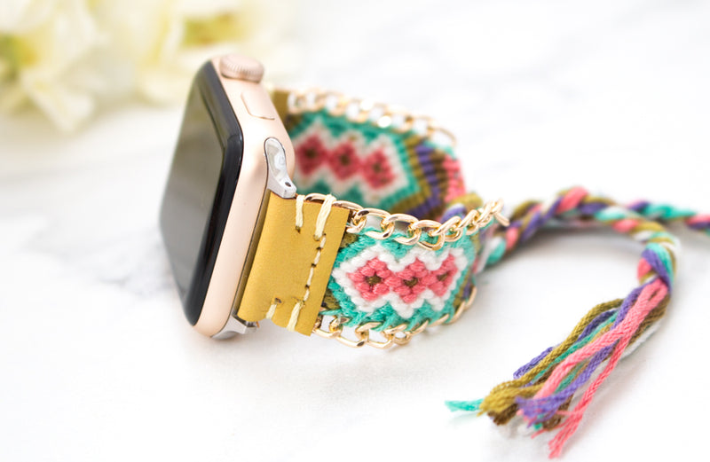 Braided Boho Apple Watch Bracelets