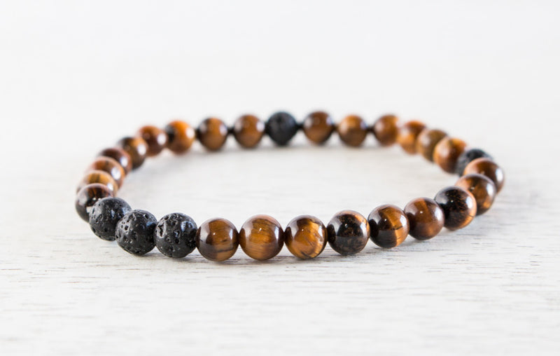 Essential Oil Diffuser Bracelets | Natural Stones