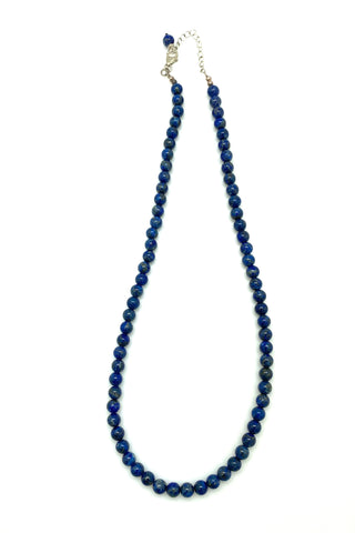 Lapis Beaded Necklace