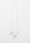 "Silver ""Vision"" Necklace"