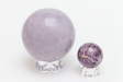 Lepidolite Sphere, Small