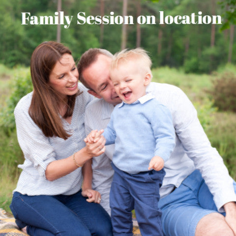 Family session at home or on location