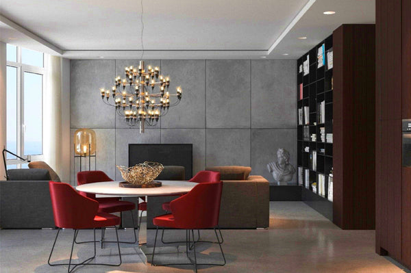 2097 50 Flos.The Flos Model 2097 50 Chandelier Designed By Gino Sarfatti