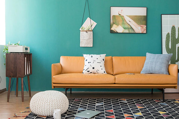 Who said that the Scandinavian style is just a cool color?