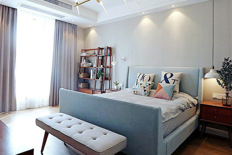 Bedroom-a comfortable place to relieve fatigue after work