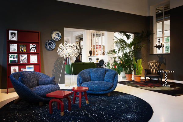 The Moooi Dandelion Floor Lamp, designed by Richard Hutton. L45