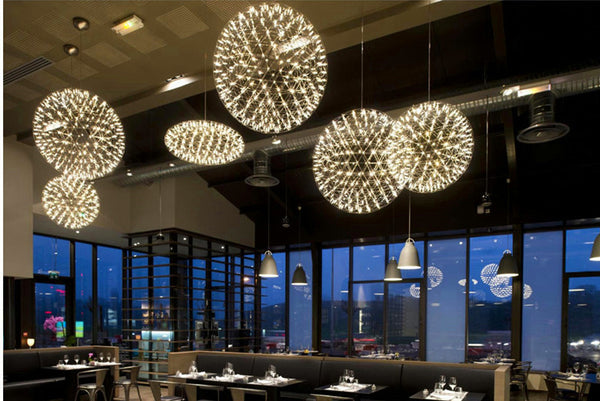 The Moooi Raimond LED Suspension, designed by Raimond Puts. D5