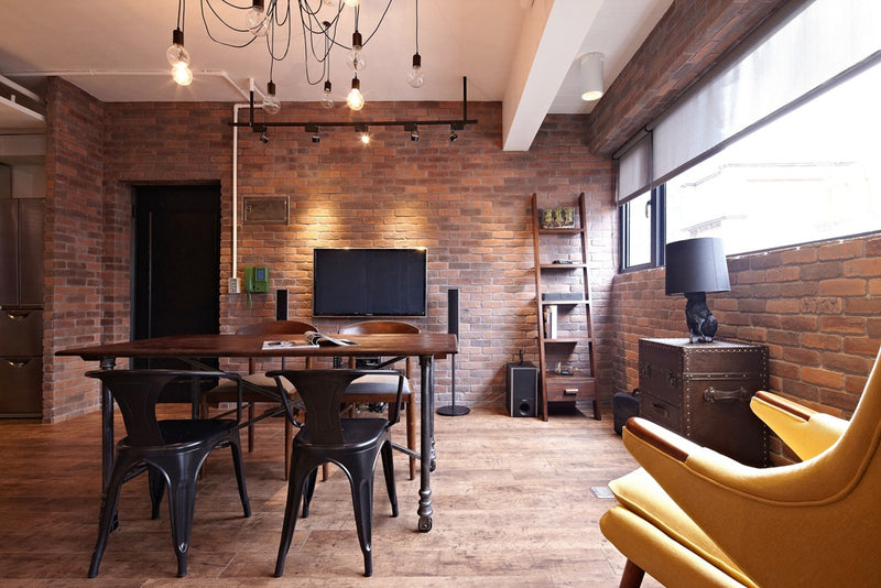 Industrial Nostalgic Style 17 Square Meters in Beijing