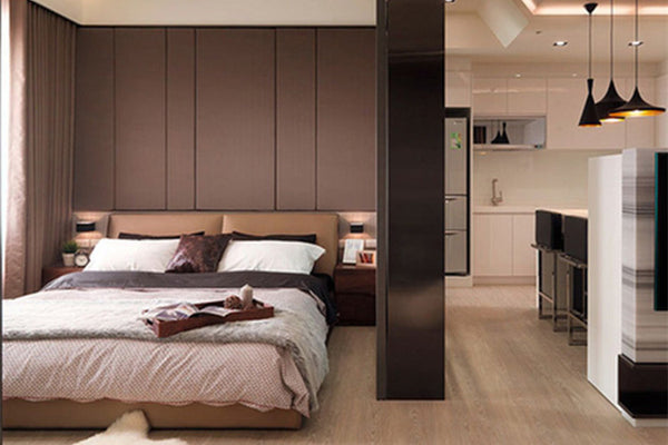 Small home: a big layout of 50 square meters
