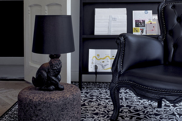 The Moooi  Rabbit Table Lamp, designed by Front. L39