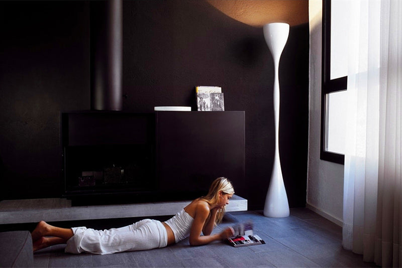 The Vibia Jazz Floor Lamp, designer Diego Fortunato. FL23