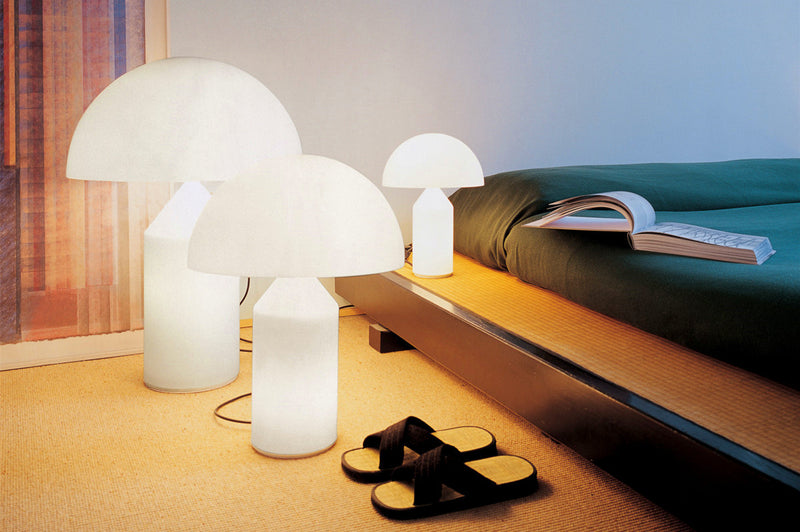 The Oluce Atollo Table Lamp, design By Vico Magistretti. TL105
