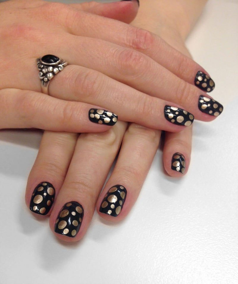 Friday Fun: Brass Spotlight Manicure
