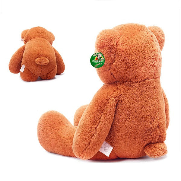 THE Dark Brown TEDDY BEAR PLUSH STUFFED TOY