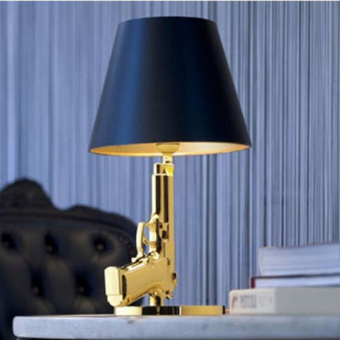 Bedside Gun Table Lamp for Flos Lighting D74