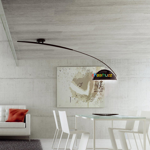 New T-2955 Pluma Swing Arm Pendant Light from Estiluz Lighting CL116