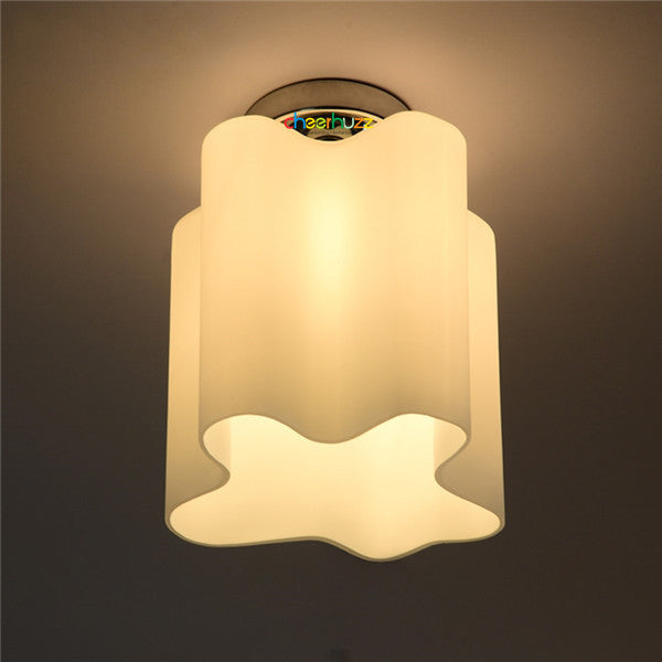 Minimalist Cloud Glass Ceiling Lamp CL117 - Cheerhuzz