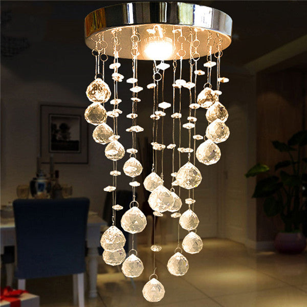 K9 Crystal Spiral Ceiling Lamp CL133 - Cheerhuzz