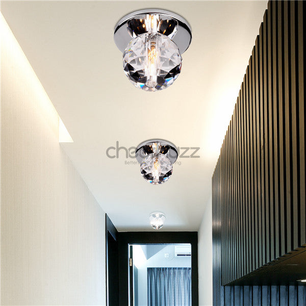 Crystal Ball LED Ceiling Light Lamp CL138 - Cheerhuzz