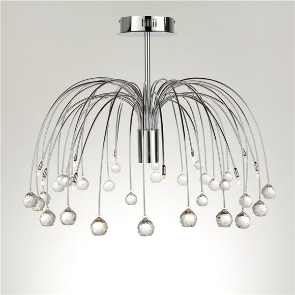 Crystal Chandelier In Firework Shape Ceiling Lamp CL139 - Cheerhuzz