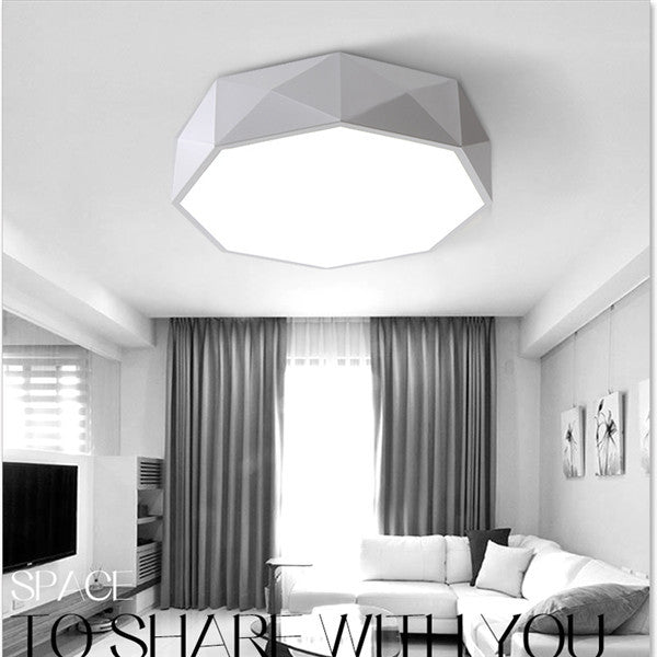 Geometry Acrylic LED Ceiling Lamp CL141 - Cheerhuzz