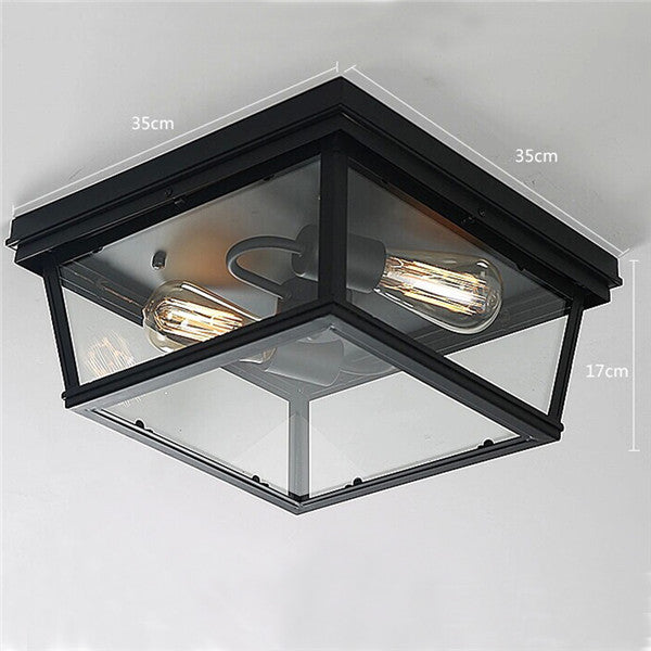 Creative Retro Glass Ceiling Lamp CL143 - Cheerhuzz