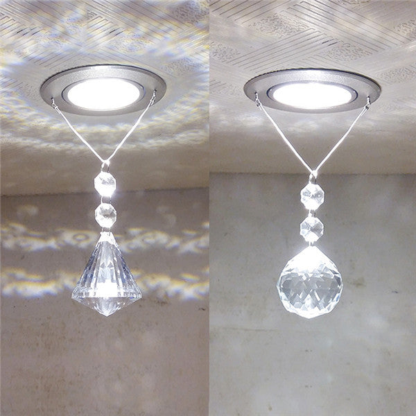 Crystal LED Ceiling Light CL145 - Cheerhuzz
