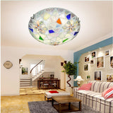 Tiffany LED Flush Mount Ceiling Light CL146