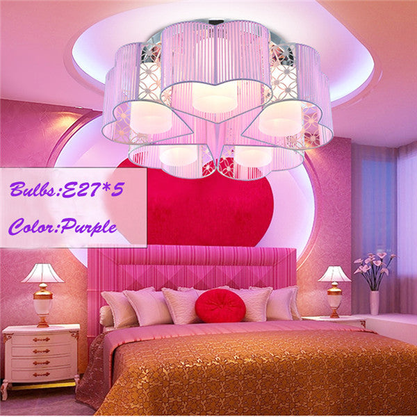 Love Acrylic Drum Ceiling Lamp CL160 - Cheerhuzz