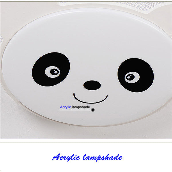 Cartoon Panda Ceiling Light CL161