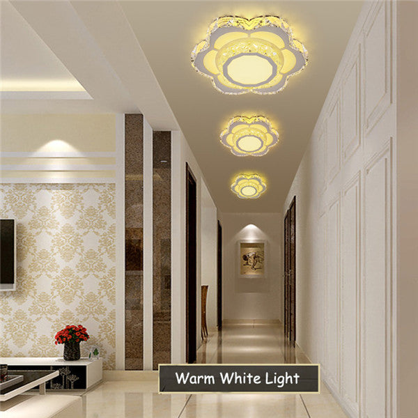 Modern Crystal LED Ceiling Light CL168 - Cheerhuzz