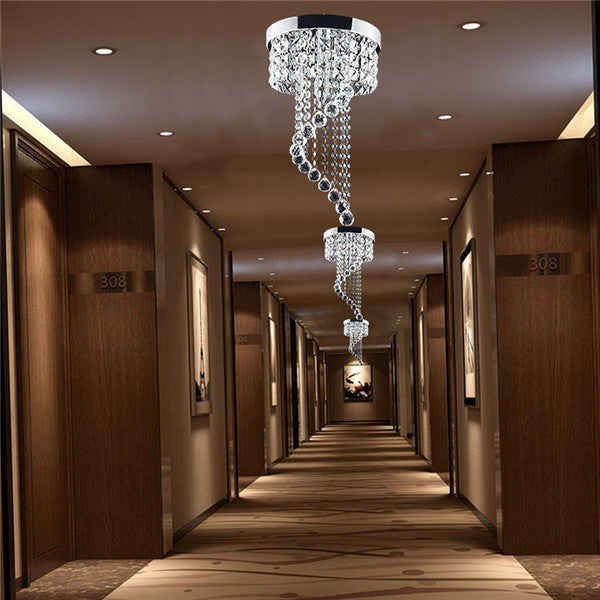Modern Crystal Ceiling Light CL176
