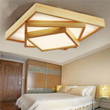 Modern Wood LED Ceiling Light CL181