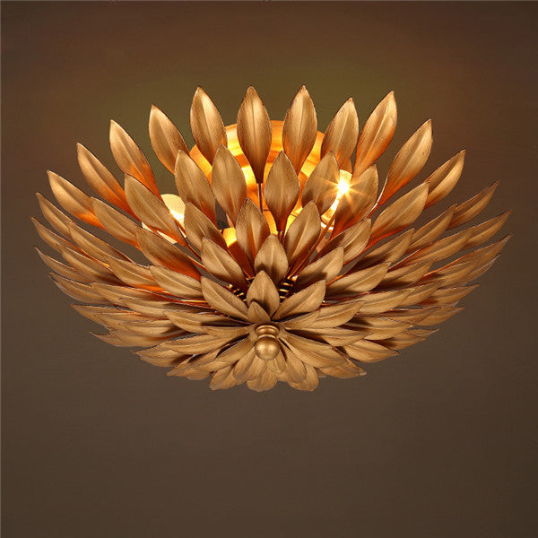 Europe Retro Flower Ceiling Light CL196 - Cheerhuzz