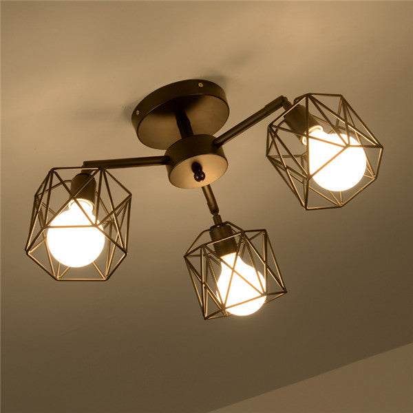 Nordic Retro Metal Ceiling Lamp CL203 - Cheerhuzz