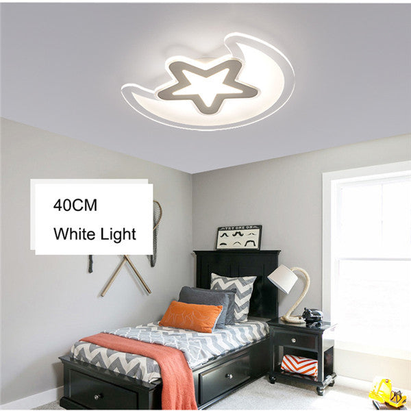 LED Moon Star Kid's Bedroom Ceiling Lights CL212 - Cheerhuzz