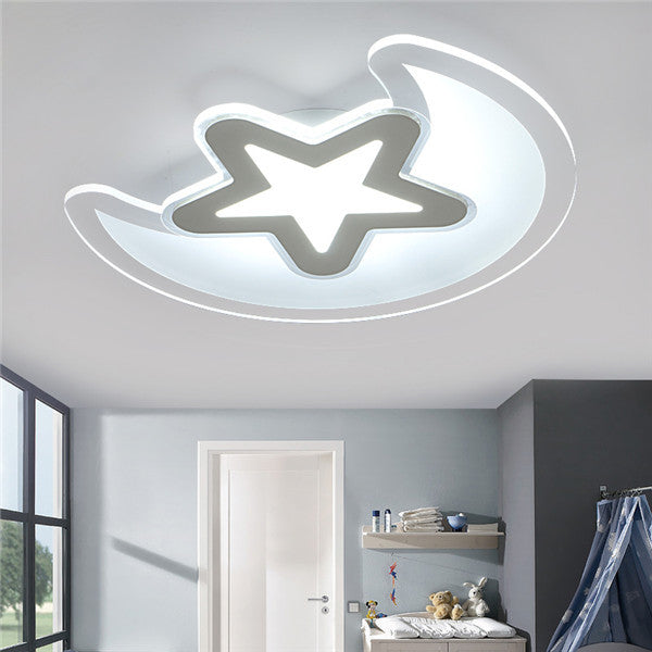 LED Moon Star Kid's Bedroom Ceiling Lights CL212