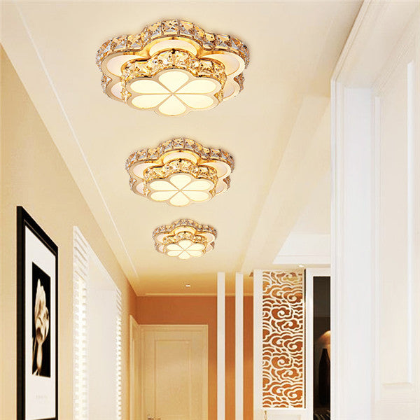 LED Flower Crystal Ceiling Lights CL215 - Cheerhuzz